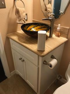 Bathroom Sink Bowl - Master Remodelers Tx