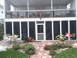 Baumgardner Windows and Pergola Before Remodelers - Master Remodelers Tx
