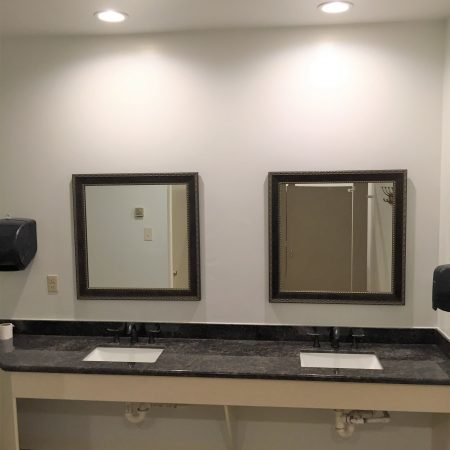 Harbor Park Pool House Vanity After - Master Remodelers Tx